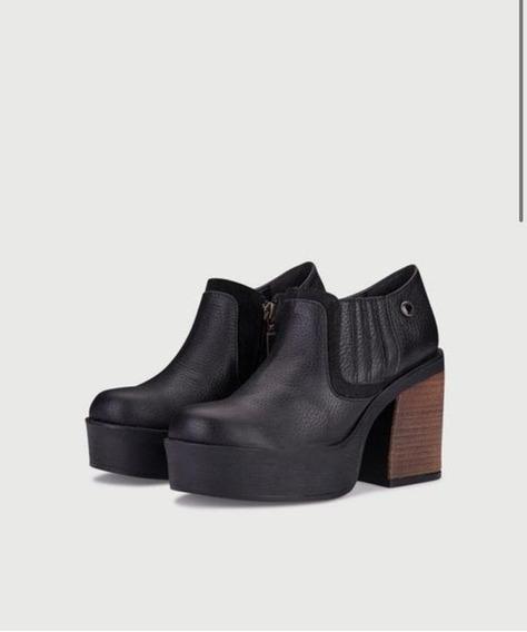 Zapatos Plataforma Mujer Viamo Modelo Bahiana