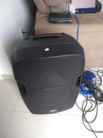Caixa De Som E Microfones Profissionais