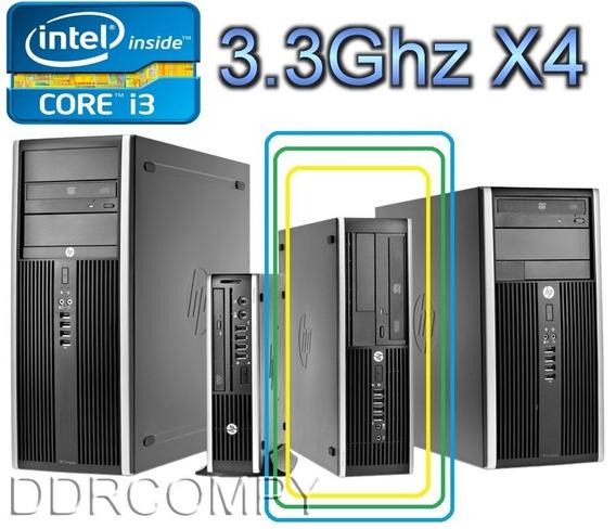 Cpu Hp C/ I3 - 3.30ghz C/ Hdmi (adaptador) 4gb E Hd De 320gb