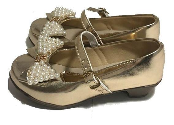 Sapato De Salto Criança Barato Promoção Sapatinho Menina