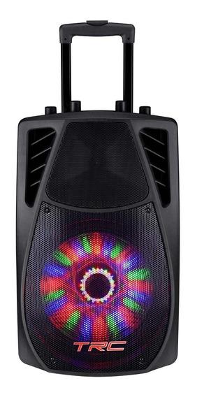 Caixa De Som Amplificada Trc Trc359 Portátil Bluetooth 360w