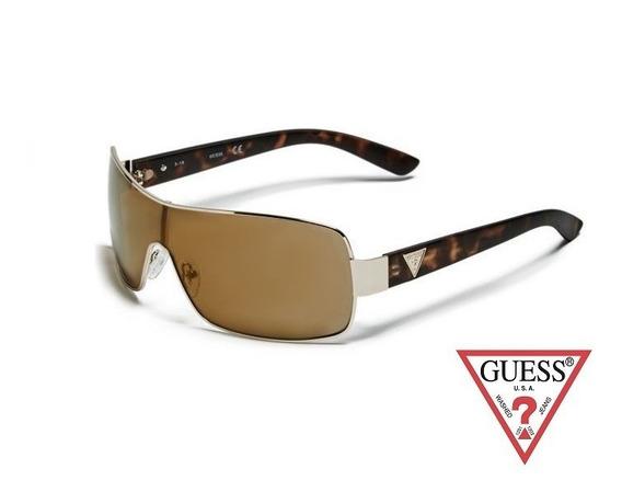 Lentes De Sol Guess Gf6594 32g Gold Tortoise Brown