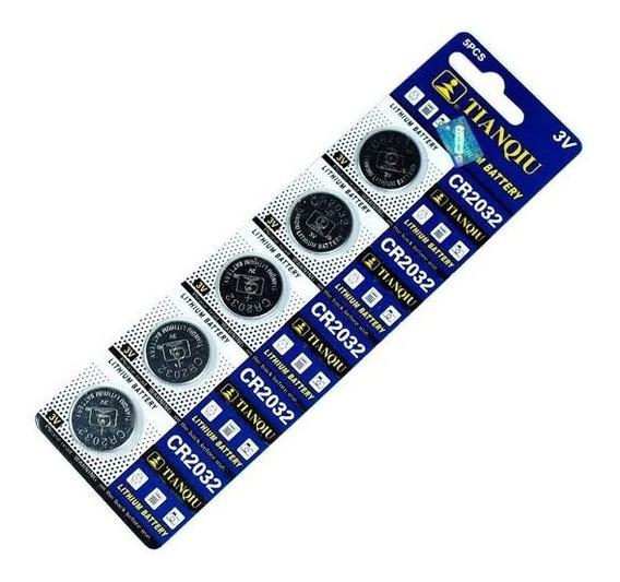 Tira Pilas Baterias Cr2032 3v Litio Pc, Cpu, Relojes Tianqui