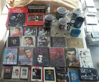 Elvis Presley Rey Del Rock & Roll Lote De Articulos Varios