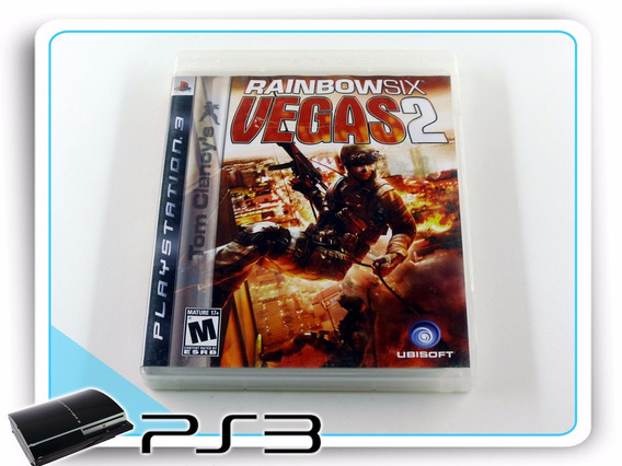 Ps3 Tom Clancys Rainbow Six Vegas 2 Original Playstation 3