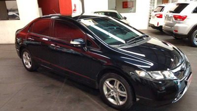 Honda Civic Exs 1.8 Aut 2007 ((( Blindado )))
