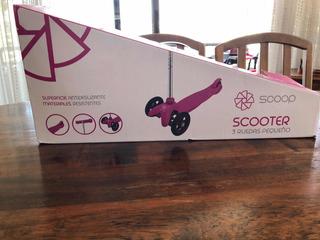 Scooter Pequeño Niña