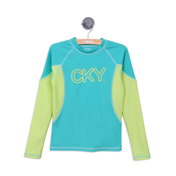 Polera Playa Playa Menta Girl Colloky