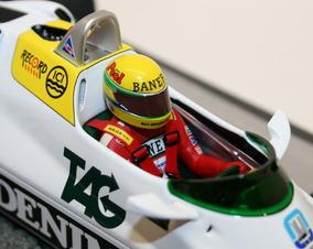 Miniatura F1 Ayrton Senna Williams Fw08c Minichamps 1/18