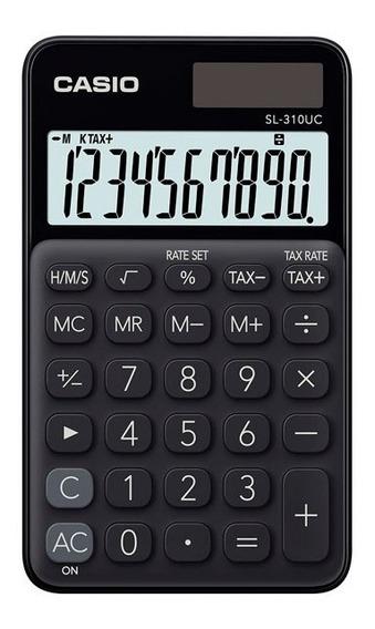 Calculadora De Bolso Casio Sl-310uc 10 Dígitos