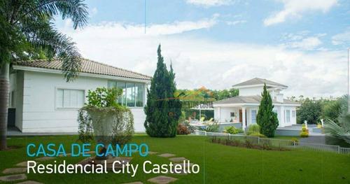 Casa Com 3 Dormitórios À Venda, 400 M² Por R$ 1.800.000 - Condomínio City Castelo - Itu/sp - Ca1723