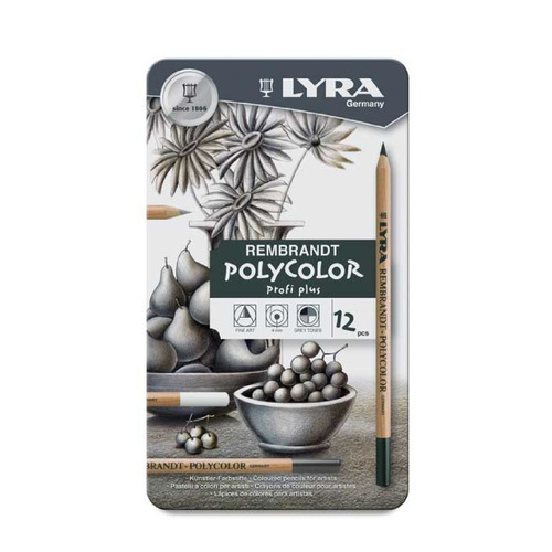 Lapices De Colores Polycolor Profi Plus Lyra 12 Pzs