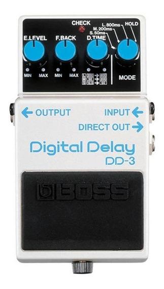 Pedal Boss Dd 3 Digital Delay Dd3 Guitarra - Original Com Nf