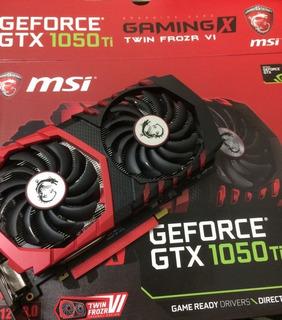 Nvidia Msi Gtx 1050ti Gaming X 4gb