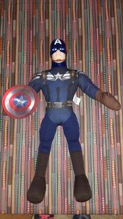 Capitán América - Muñeco De Tela - Marvel