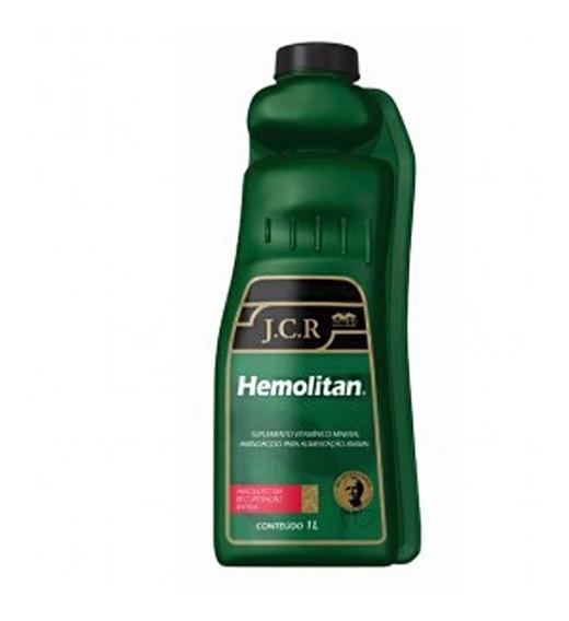 Hemolitan Jcr 1 Litro - Suplemento Equinos - Vetnil