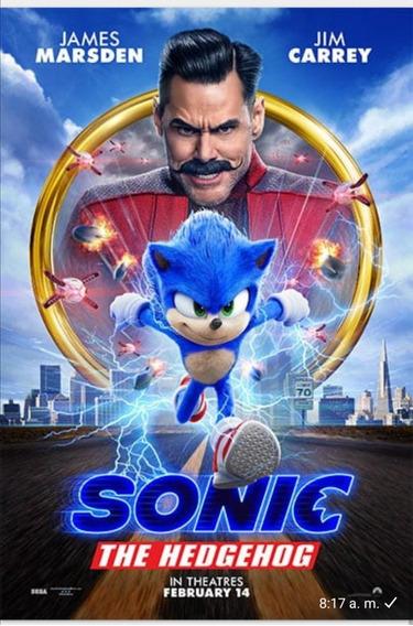 Sonic Pelicula Digital 1080p Latino