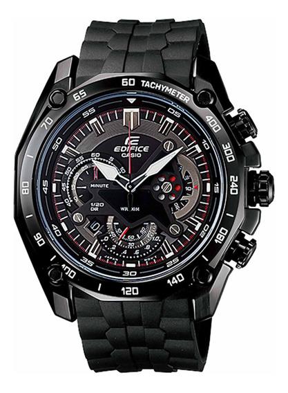 Relógio Casio Ef-550pb-1avudf Edífice Masc Preto - Refinado