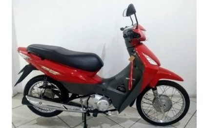 Motocicleta Honda Biz 125es 2006 Vermelha