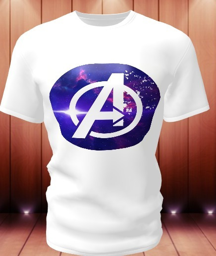 Camisa Camiseta Personalizada Vingadores Marvel