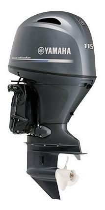 Motor De Popa Yamaha 115hp Okm ( 12 X Cartao De Credito )