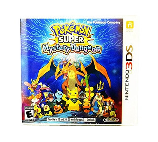 Pokemon Super Mystery Dungeon Nintendo 3ds Standard Edition