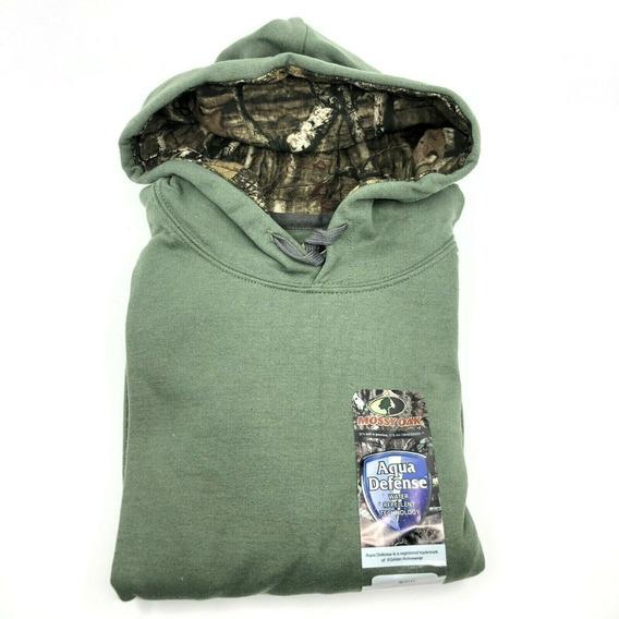 Mossy Oak Sudadera Para Hombre Con Capucha-verde Militar