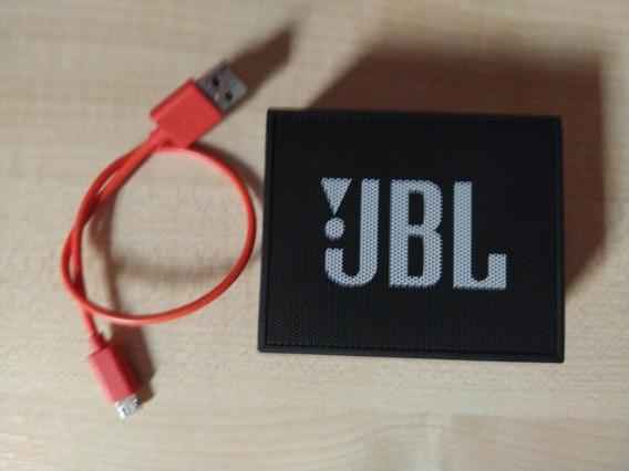 Caixa De Som Bluetooth Jbl Go Black