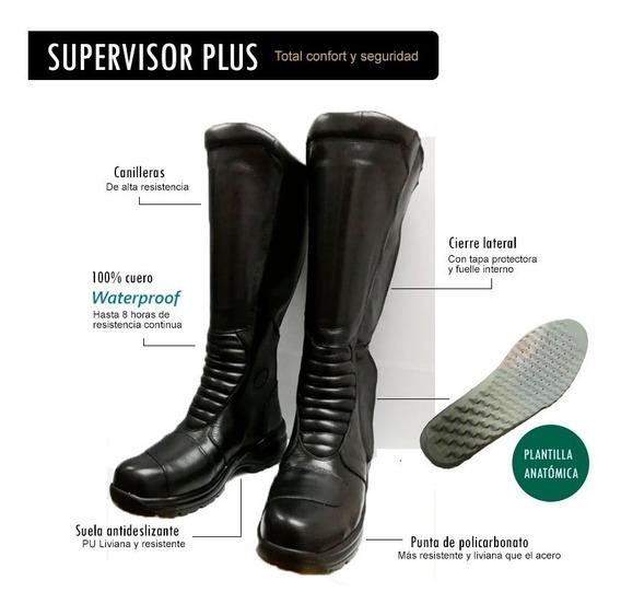 Botas Para Moto Supervisor, Impermeables. Full Protección!