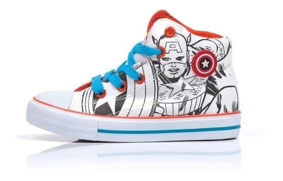 Zapatillas Marvel Capitan America The Avenger Fty Calzados