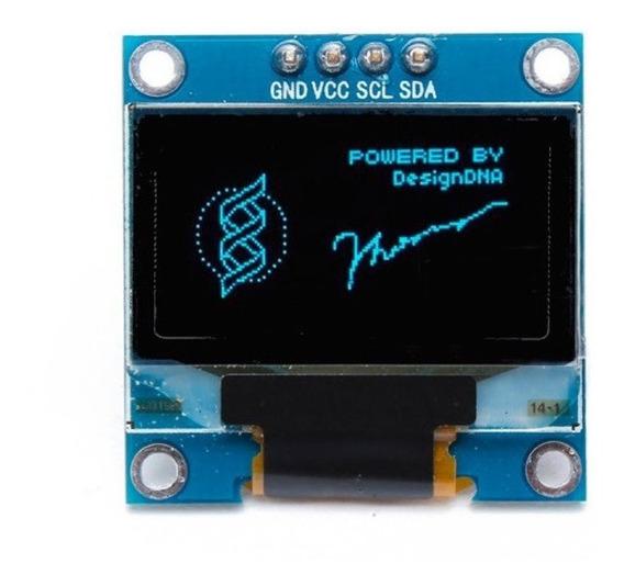 Display Oled 0.96 I2c Azul
