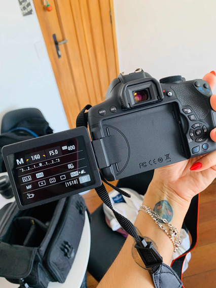 Canon Eos Rebel T6i Kit 18-55mm Stm - 24mp