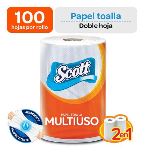 Papel Toalla Scott Multiusos (2 En 1)