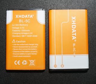 Paquete De 2 Baterías Xhdata Bl-5c 1500mah 3.7v, Nokia Y Mas