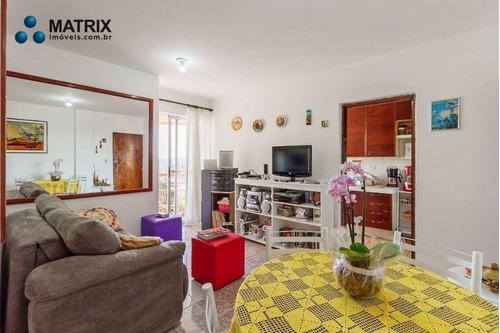 Apartamento Com 2 Dormitórios À Venda, 49 M² Por R$ 310.000,00 - Campina Do Siqueira - Curitiba/pr - Ap6691