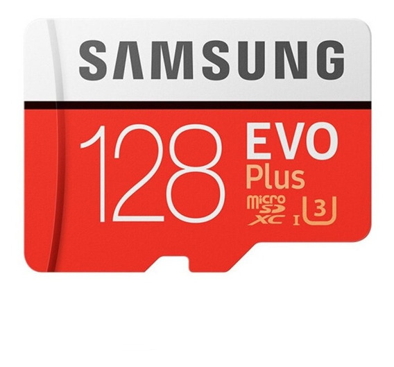 Cartão 128gb Samsung Micro Sdxc Evo Plus C10 U3 Video 4k
