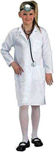 White Child Lab Doctor Coat Solo Abrigo
