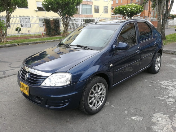 Renault Logan Familier Mt1400cc Azul Navy Aa Dh Rines