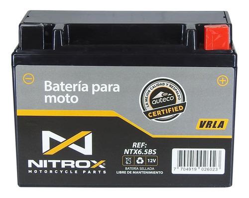 Imagen 1 de 2 de Batería Nitrox  Moto Victory Mrx 150