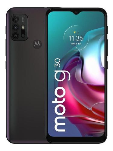 Celular Motorola Moto G30 128gb Gris Tornasol