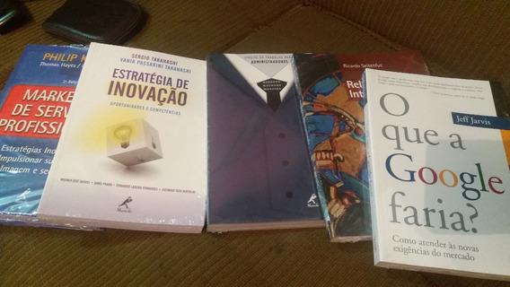 Livros Novos (plastificados)
