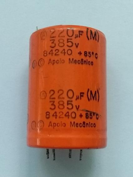 Capacitor Electrolitico 220mf. X 385 Volts