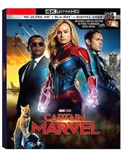 Capitana Marvel 4k + Blu-ray + Digital Hd Target Exclusive