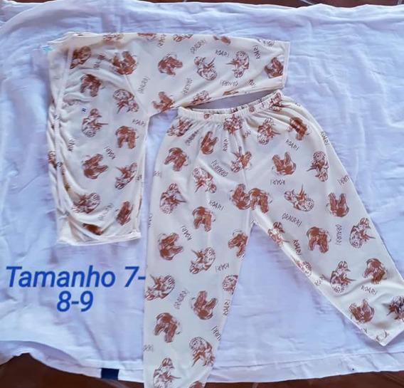 4 Pijamas Tamamhos Nas Fotos Por Unico Preço