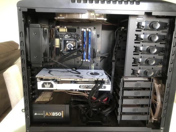 Intel Core I7 2600k + Sabertootchp67+16gb+h80 Kit Gamer