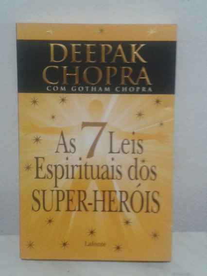 As 7 (sete) Leis Espirituais Dos Super-heróis