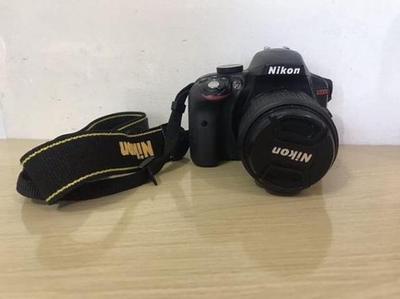 Camera Profissional Nikon D3300 + Lente 18-55 + Case