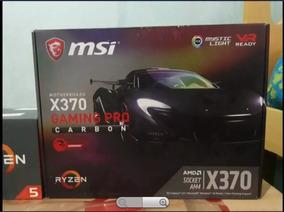 Kit Pc Gamer - Processador R5 1600 + X370 Msi Pro Carbon