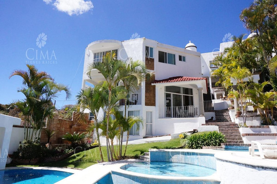 Venta Casa Con Hermosa Vista -v174
