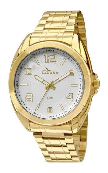 Relógio Condor Unisex Co2035kls K4k Dourado Lindo E Barato Aproveite